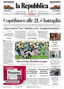 la Repubblica - 2 Novembre 2020