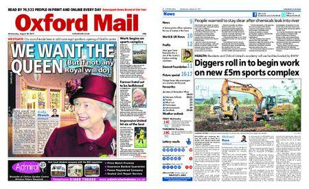 Oxford Mail – August 30, 2017