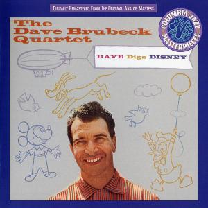 The Dave Brubeck Quartet - Dave Digs Disney (1957) [Reissue 1994]