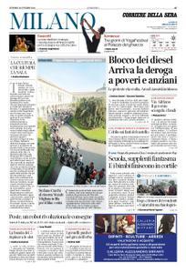 Corriere della Sera Milano – 19 ottobre 2018