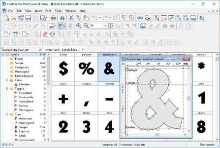 High-Logic FontCreator Professional Edition 11.5.0.2422 + Portable