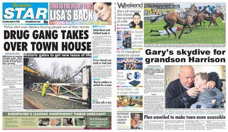 Shropshire Star Shrewsbury Edition – April 14, 2018