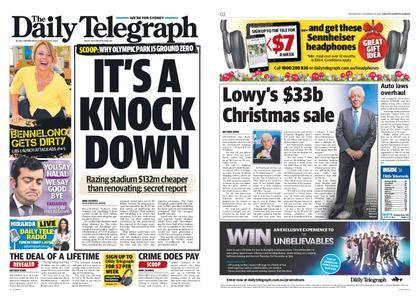 The Daily Telegraph (Sydney) – December 13, 2017
