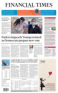 Financial Times Europe - January 11, 2021