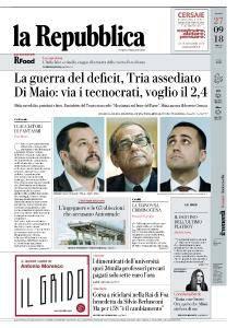 la Repubblica - 27 Settembre 2018