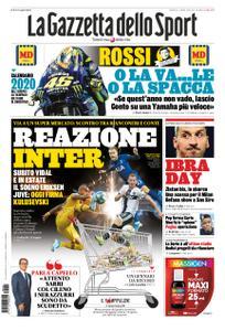 La Gazzetta dello Sport Roma – 02 gennaio 2020