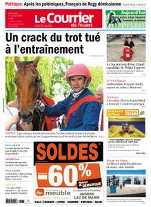 Le Courrier de l'Ouest Nord Anjou – 17 juillet 2019
