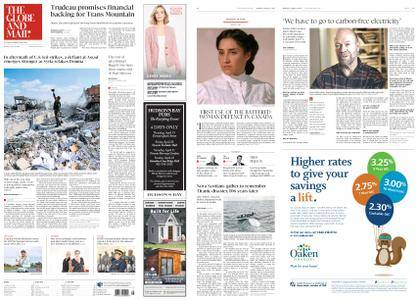 The Globe and Mail – April 16, 2018