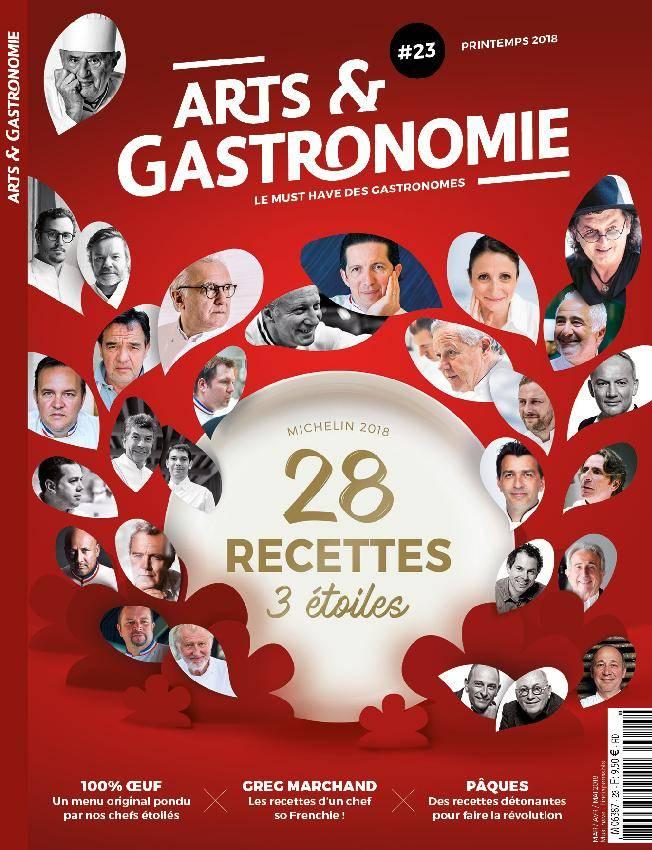 Arts & Gastronomie - avril 2018
