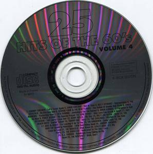 VA - 25 Hits of the 60's Volume 1-4 (1994)