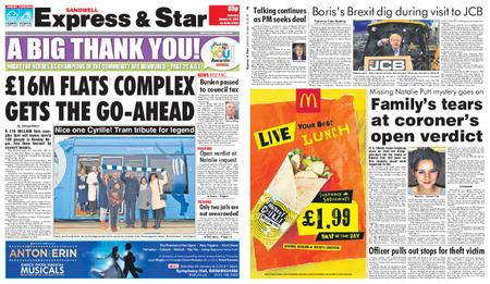 Express and Star Sandwell Edition – January 19, 2019