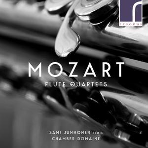 Sami Junnonen, Chamber Domaine - Mozart: Flute Quartets (2018)