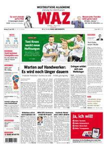 WAZ Westdeutsche Allgemeine Zeitung Oberhausen-Sterkrade - 25. Juni 2018