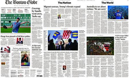 The Boston Globe – October 23, 2018