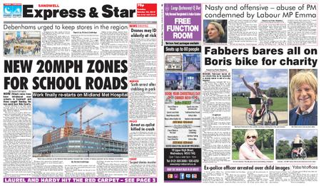 Express and Star Sandwell Edition – October 23, 2018