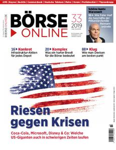Börse Online – 15. August 2019