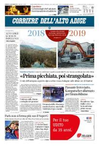 Corriere dell'Alto Adige – 30 dicembre 2018