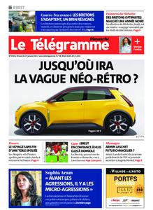 Le Télégramme Brest Abers Iroise – 17 janvier 2021