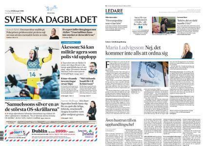 Svenska Dagbladet – 13 februari 2018