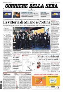 Corriere della Sera – 25 giugno 2019