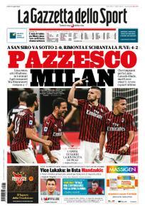 La Gazzetta dello Sport Roma – 08 luglio 2020