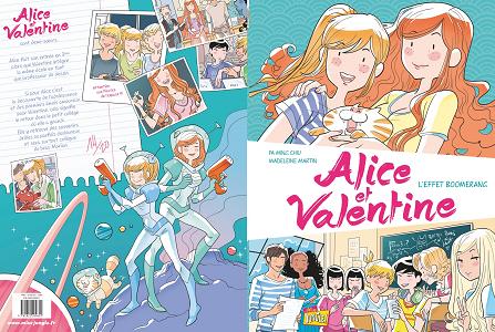 Alice et Valentine - Tome 1 - L'effet Boomerang