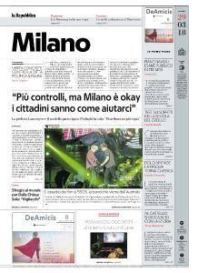 la Repubblica Milano - 29 Marzo 2018