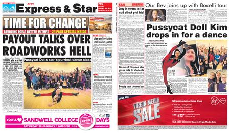 Express and Star City Edition – January 22, 2019