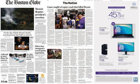 The Boston Globe – January 27, 2020