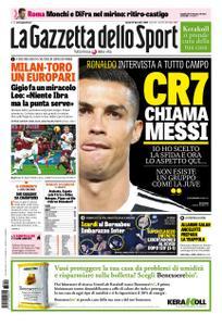 La Gazzetta dello Sport Roma – 10 dicembre 2018