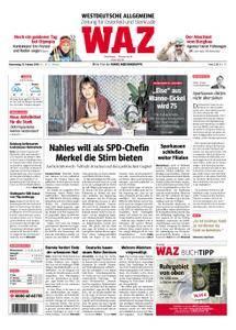 WAZ Westdeutsche Allgemeine Zeitung Oberhausen-Sterkrade - 15. Februar 2018