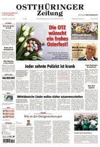 Ostthüringer Zeitung Pößneck - 31. März 2018