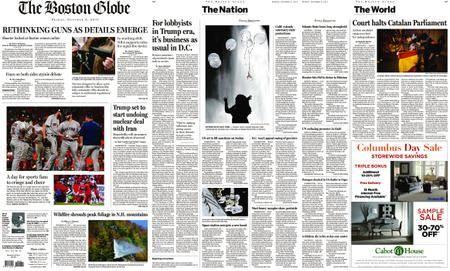 The Boston Globe – October 06, 2017