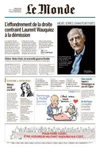Le Monde du Mardi 4 Juin 2019