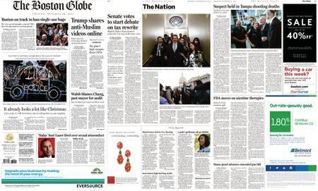The Boston Globe – November 30, 2017
