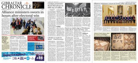 Gibraltar Chronicle – 19 October 2019