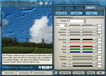 Hypertyle 1.02 - Photoshop Plugin