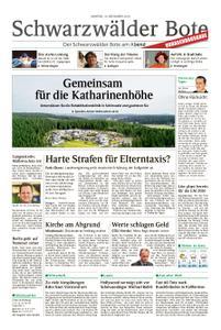 Schwarzwälder Bote Hechingen - 19. November 2018