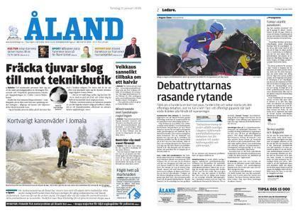 Ålandstidningen – 11 januari 2018