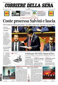 Corriere della Sera – 21 agosto 2019