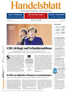 Handelsblatt - 15 Juni 2020
