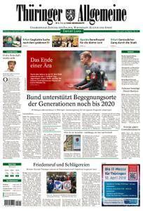 Thüringer Allgemeine Erfurt Land - 03. April 2018