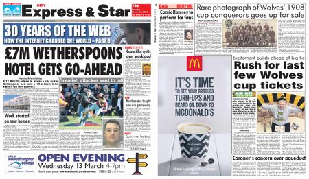 Express and Star City Edition – March 12, 2019