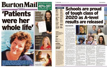 Burton Mail – August 14, 2020