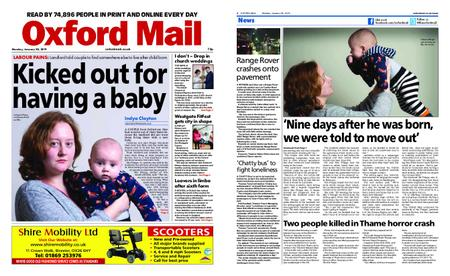 Oxford Mail – January 28, 2019