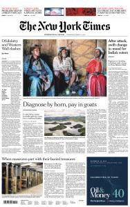 International New York Times - 13 March 2019