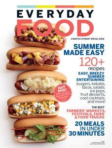 Martha Stewart Living Everyday Food – July 2015