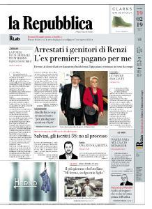 la Repubblica - 19 Febbraio 2019
