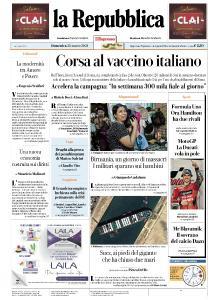 la Repubblica - 28 Marzo 2021