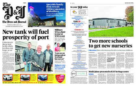 The Press and Journal Moray – October 10, 2018
